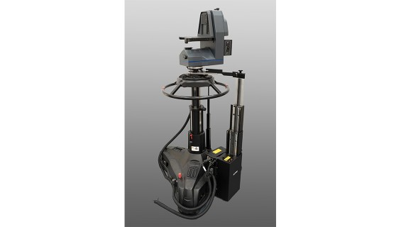 Shotoku TP200 Pedestal with TI-12 Height Drive and TG-18 robotic head