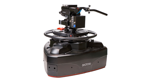 Shotoku TP-80VR/23VR Pedestal and Head System for Virtual Sets at Max. Low Position